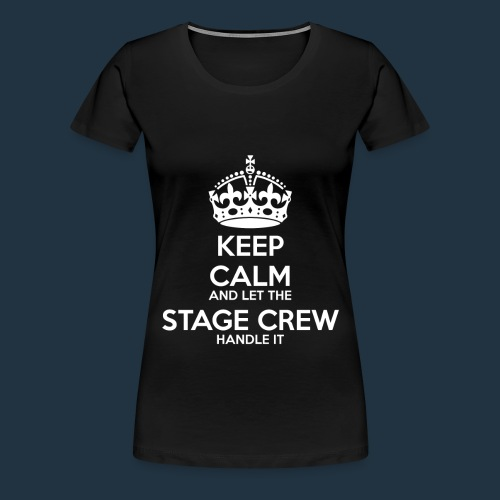 Stage Crew Tee   White - Women's Premium T-Shirt