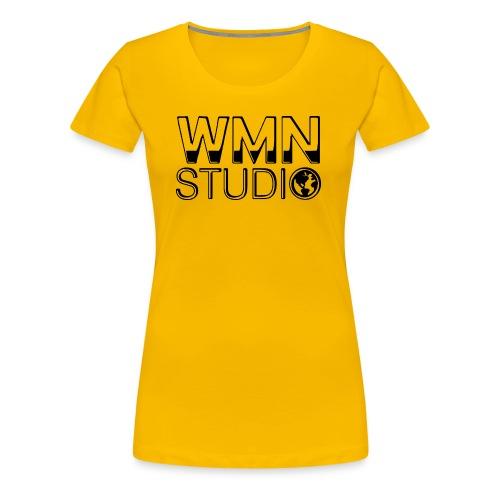 WMN Studio Logo Women's T-Shirt - Women's Premium T-Shirt