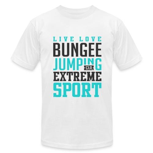 Bungee Jumping Extreme Sport T-shirt - Men's  Jersey T-Shirt