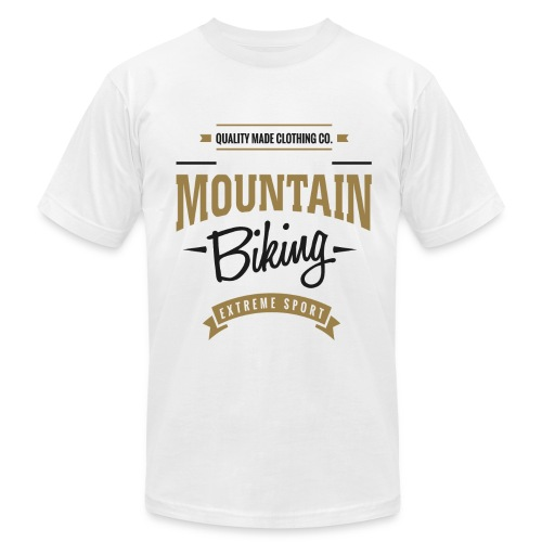 Mountain Biking Extreme Sport T-shirt - Men's  Jersey T-Shirt
