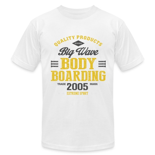 Bodyboarding Extreme Sport T-shirt - Men's Fine Jersey T-Shirt