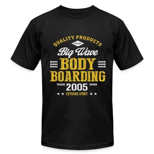 Bodyboarding Dark T-shirt - Men's  Jersey T-Shirt