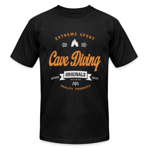 Cave DivingDark T-shirt - Men's  Jersey T-Shirt