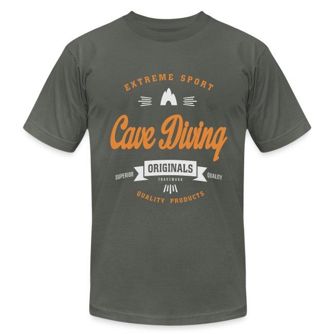 Cave DivingDark T-shirt