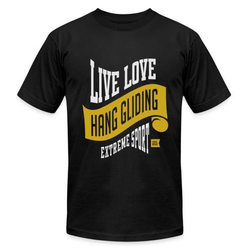 Live Love Hang Gliding Dark T-shirt - Men's  Jersey T-Shirt