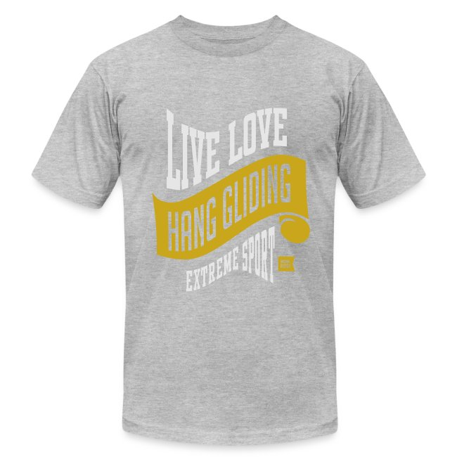 Live Love Hang Gliding Dark T-shirt