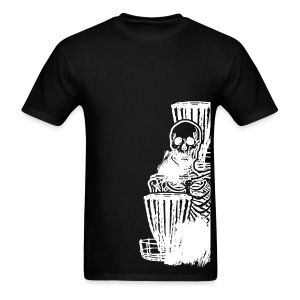 Disc Golf Skeleton Baskets Standard Shirt - Choose a Color - Men's T-Shirt