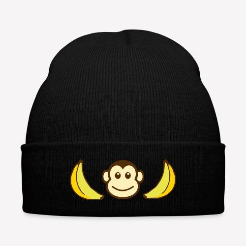 ape hat - Knit Cap with Cuff Print