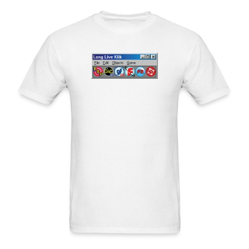 Long Live Klik Shirt-02.png - Men's T-Shirt