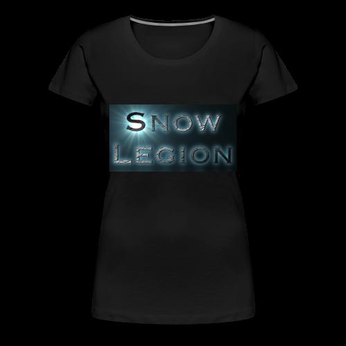 Lady SnowLegion Member Shirt - Women's Premium T-Shirt