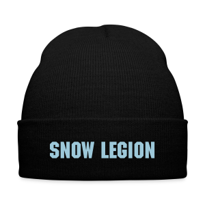 SnowLegion Beanie - Knit Cap with Cuff Print