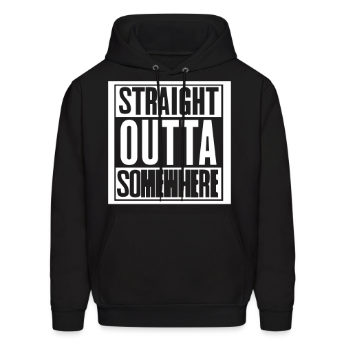 Inverted Straight Outta Somewhere Hoodie - Men's Hoodie