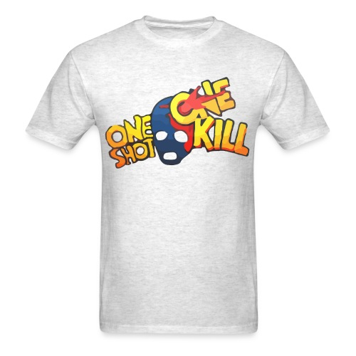 ONE SHOT ONE KILL CS:GO T-SHIRT MEN - Men's T-Shirt