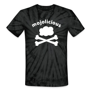 Mojolicious Pirate Cloud (tie dye) - Unisex Tie Dye T-Shirt
