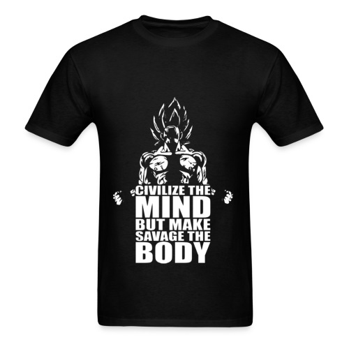 Make your body savage - Men's T-Shirt