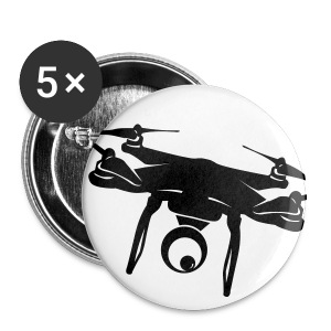 Drone Buttons (5 Pack) - Small Buttons