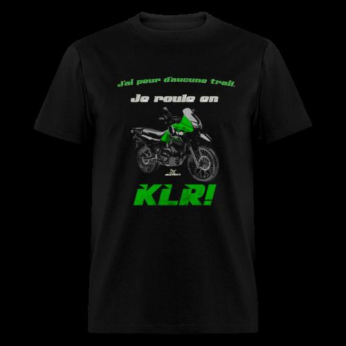 Je roule en KLR - Men's T-Shirt