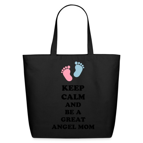 Angel Mom Tote Bag - Eco-Friendly Cotton Tote