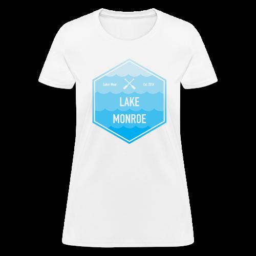 Boat Lake Monroe - Women's T-Shirt