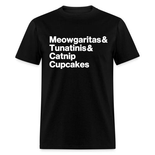 meowgaritas unisex - Men's T-Shirt