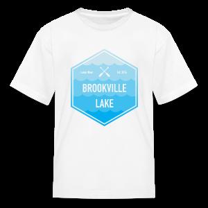Boat Brookville Lake - Kids' T-Shirt