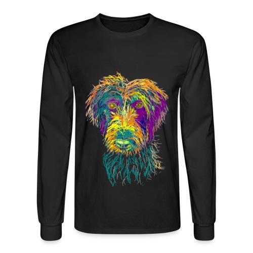 Colorful Rupert - Men's Long Sleeved T - Men's Long Sleeve T-Shirt