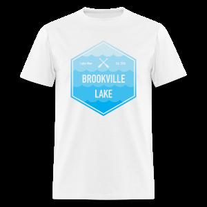 Boat Brookville Lake - Men's T-Shirt