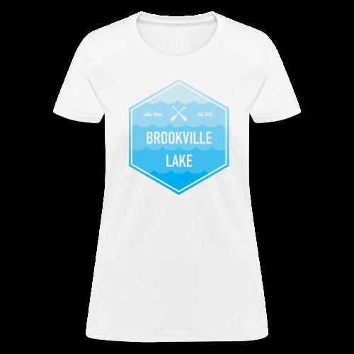 Boat Brookville Lake - Women's T-Shirt