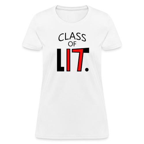 Class of LIT Red/Black - Women's T-Shirt