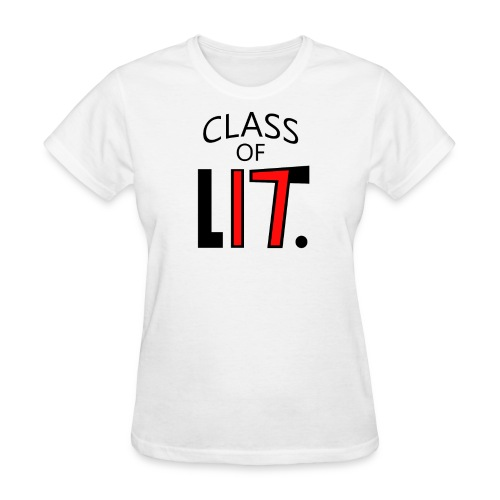 Class of LIT Red/Black - Women's T-Shirt