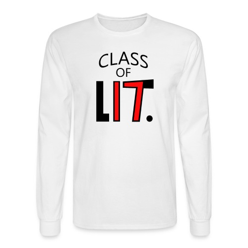 Class of LIT Red/Black Long Sleeve - Men's Long Sleeve T-Shirt