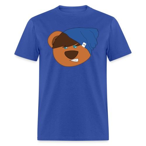 Beanie Bear Mens T-Shirt - Men's T-Shirt