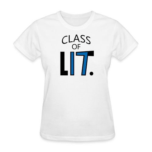 Class of LIT Blue/Black  - Women's T-Shirt
