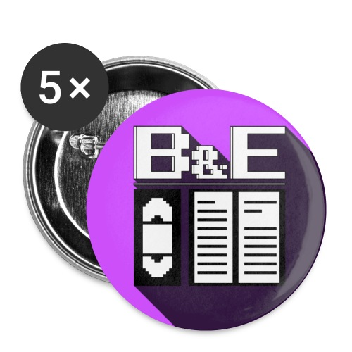 B&E Logo Buttons - Small Buttons