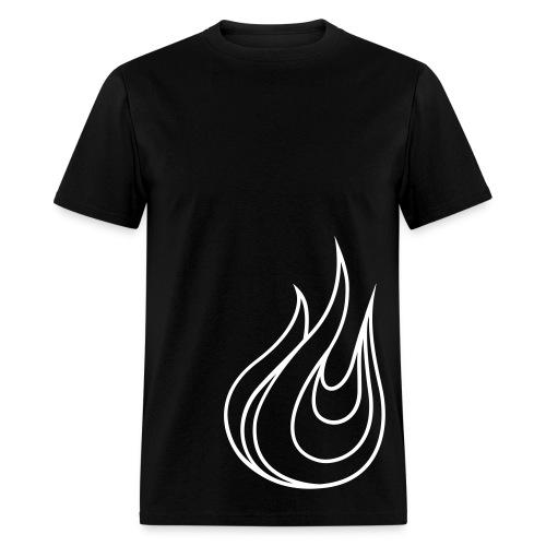 Forest Bear Logo Outline (Male) - Men's T-Shirt