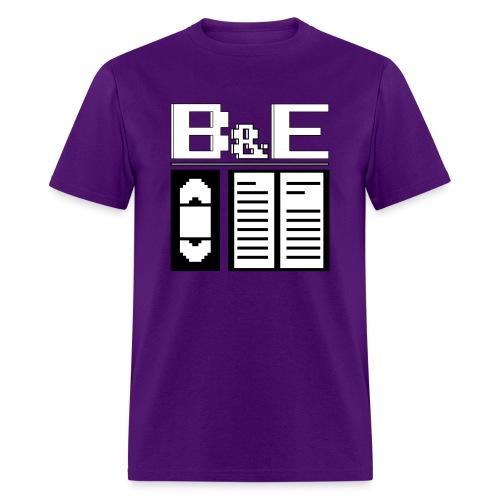 Men's B&E Logo - Men's T-Shirt