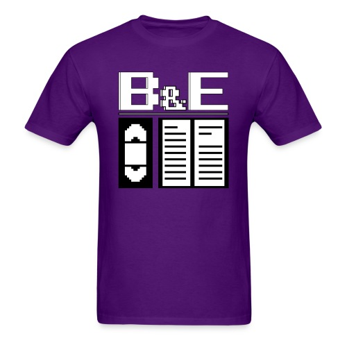 Men's B&E Logo - Men's T-Shirt