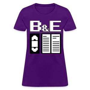 Women's B&E Logo - Women's T-Shirt