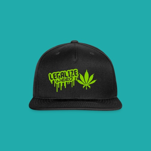 legalise - Snap-back Baseball Cap