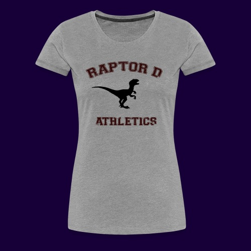 Raptor D - Women's Premium T-Shirt