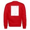 Unisex THOT Crew Neck #AntiSlutShaming - Crewneck Sweatshirt