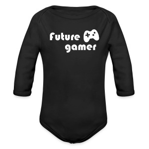 Future Gamer Baby    - Long Sleeve Baby Bodysuit