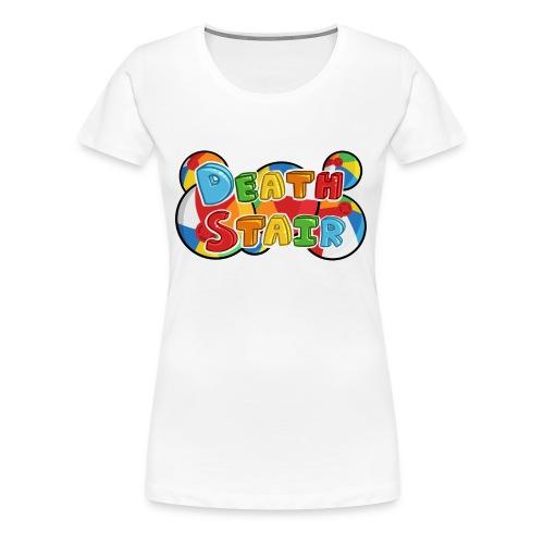 Death Stair logo Womens Tee - Women's Premium T-Shirt