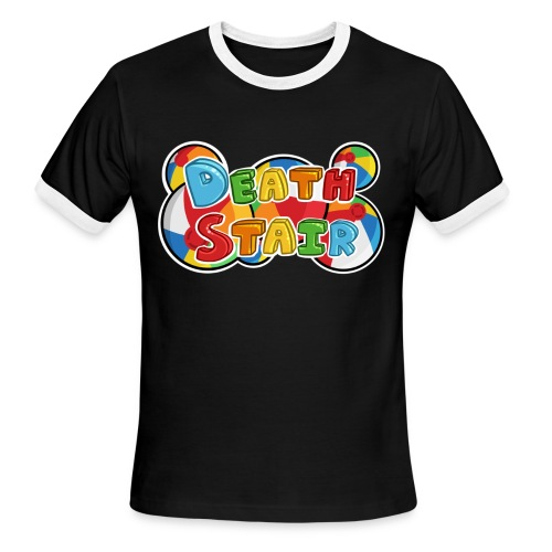 Death Stair Ringer - Men's Ringer T-Shirt
