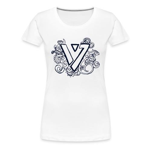 SEVENTEEN: Floral Carat Women's T-Shirts - Women's Premium T-Shirt