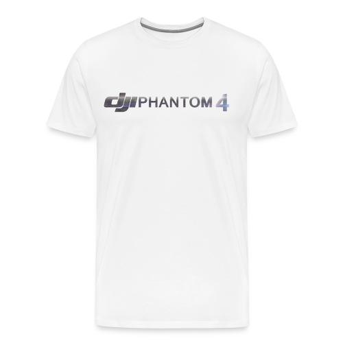 DJI Phantom 4 Owner T-Shirt (Men) - Men's Premium T-Shirt