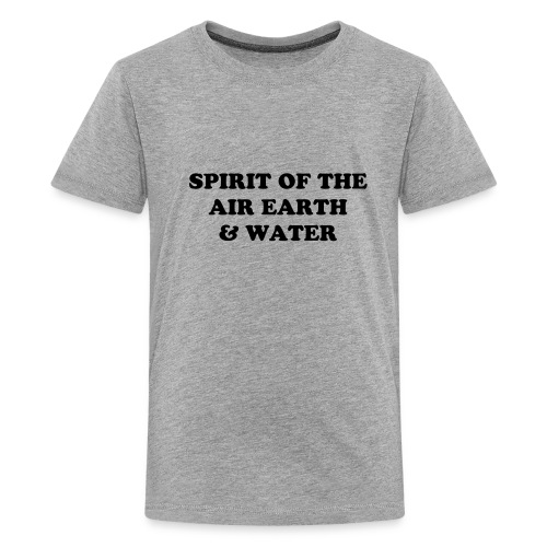 SPIRIT OF THE AIR EARTH & WATER Kids' Premium T-shirt in many colours options. - Kids' Premium T-Shirt