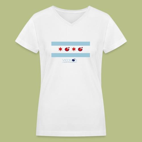 The Lena - Women's V-Neck T-Shirt