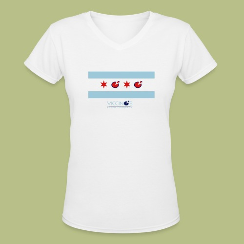 The Lena - Women's V-Neck T-Shirt