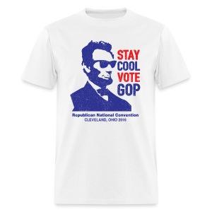 Cool Abe - Men's T-Shirt